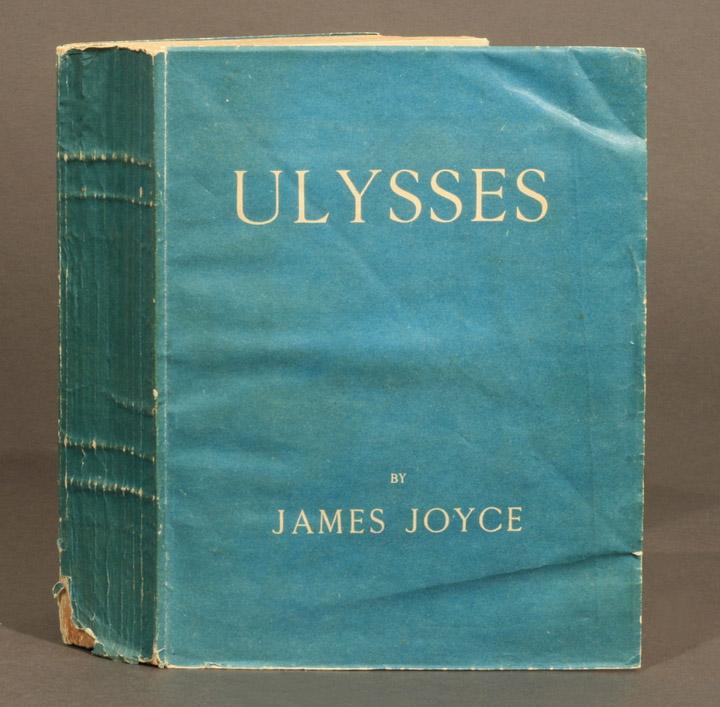 3 Joyce Ulysses 1922